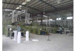 Non-woven equipment manufacturers_non-woven machinery equipment_non-woven machinery production line_kaiping Rongfa machinery Co., ltd.-Shoe Material Vertical Stretch Boarding Machine