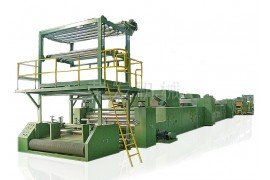 Non-woven equipment manufacturers_non-woven machinery equipment_non-woven machinery production line_kaiping Rongfa machinery Co., ltd.-Vertical Stretcher For Automobile Interior Trim