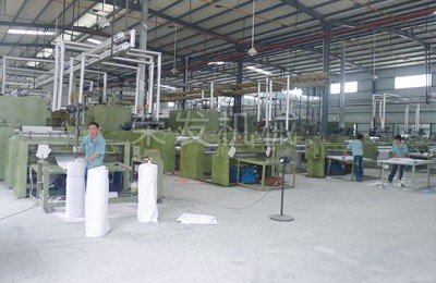 Products are exported overseas