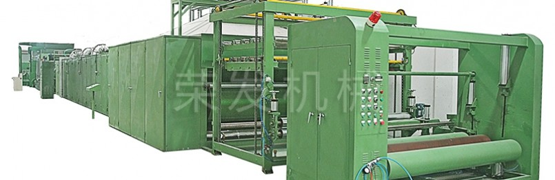 Foam Dipped Non-woven Fabric Production Line